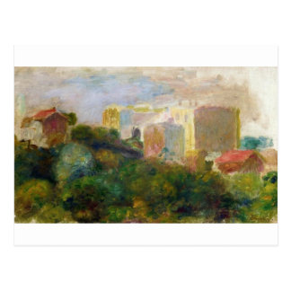 View from Renoir's Garden in Montmartre Postcard