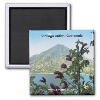 View from Santiago Atitlan, Guatemala Magnet