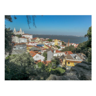 View from Sao Jorge Castle, Portugal - Postcard
