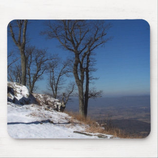 """""""View from Skyline Drive, VA """" Mouse Pad"""