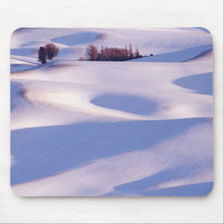 View from Steptoe Butte of rolling hills covered 2 Mouse Mat