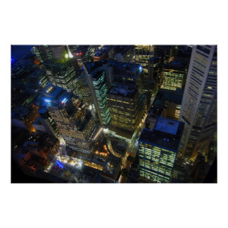 View from Sydney Tower Print