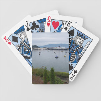 VIEW FROM TAYLOR STREET DOCK BICYCLE PLAYING CARDS