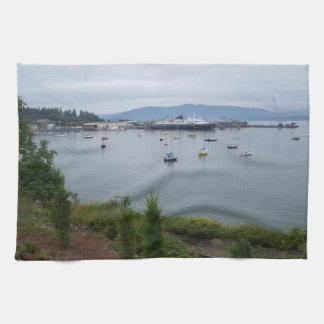 View From Taylor Street Dock Tea Towel