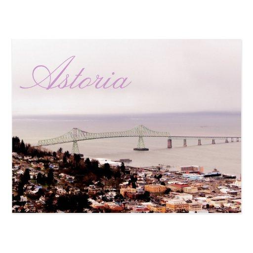 view from the Astoria Column Astoria–Megler Bridge Post Cards