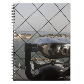 View from the Campanile, San Giorgio Maggiore, Notebook