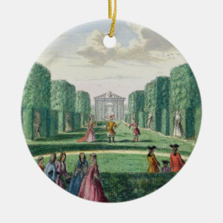 View from the green loggia to the theatre, from 'H Christmas Ornament