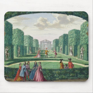 View from the green loggia to the theatre, from 'H Mouse Mat