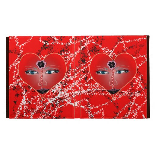 View from the heart iPad folio covers