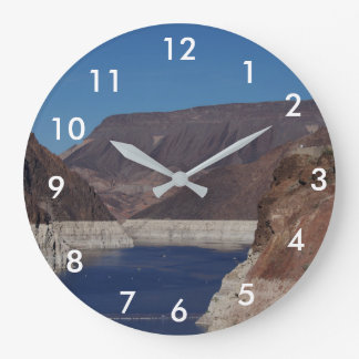 View from the Hoover Dam 2016. Clocks