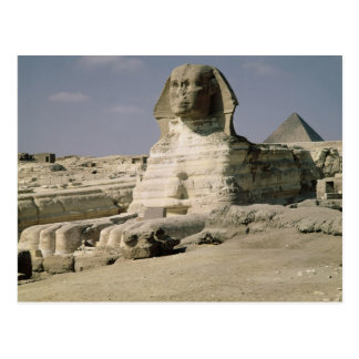 View from the north east of the Sphinx Postcard