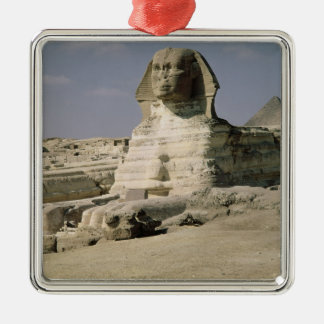 View from the north east of the Sphinx Silver-Colored Square Decoration
