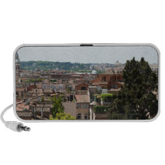View from the park of Villa Borghese over Rome. iPhone Speaker