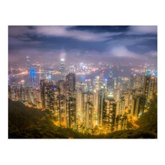 View from The Peak, Hong Kong Postcard
