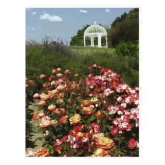 View from the Rose Garden Post Card
