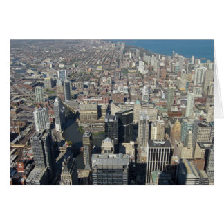 View from the Sears Tower 2 Greeting Card