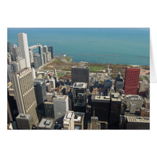 View from the Sears Tower 4 Greeting Card