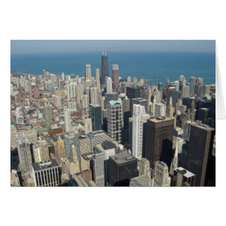 View from the Sears Tower Card