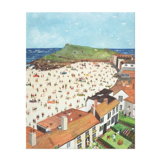 View from the Tate Gallery St. Ives Canvas Print