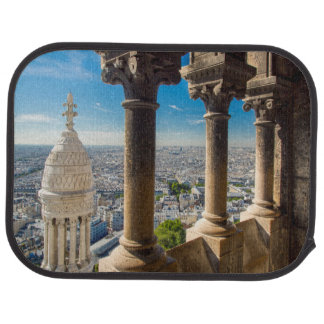 View from the top of Basilique du Sacre Coeur Car Mat