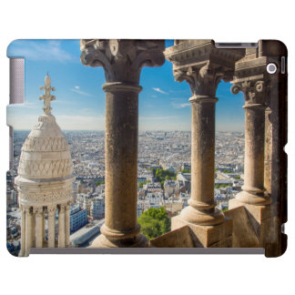 View from the top of Basilique du Sacre Coeur iPad Case