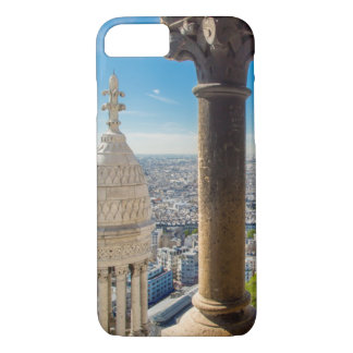 View from the top of Basilique du Sacre Coeur iPhone 8/7 Case