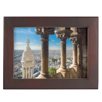 View from the top of Basilique du Sacre Coeur Keepsake Box