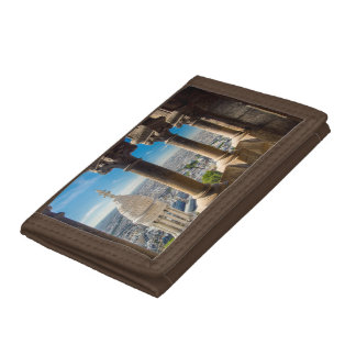 View from the top of Basilique du Sacre Coeur Trifold Wallets