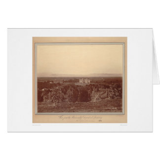 View from the University grounds at Berkeley(1337) Greeting Card