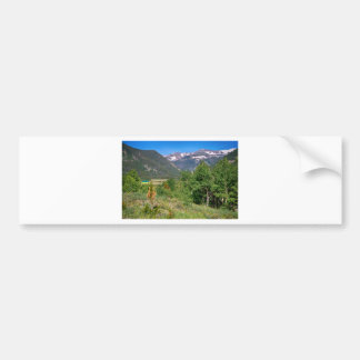View From Tolland Colorado Bumper Sticker