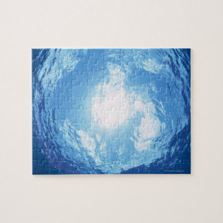 View from under water jigsaw puzzle