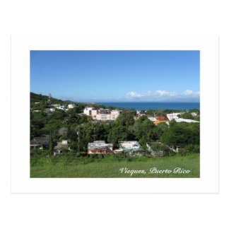 View from Vieques Postcard