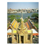 View from Wat Arun over Chao Phraya river, Bangkok Post Cards