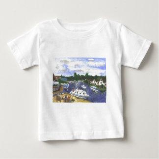 View from Wroxham Bridge Norfolk Broads Baby T-Shirt