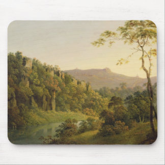 View in Matlock Dale, Looking Towards Black Rock E Mouse Pad