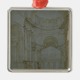 View in New St. Peter's in Rome Christmas Ornament