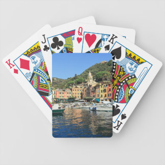 view in Portofino Bicycle Card Deck