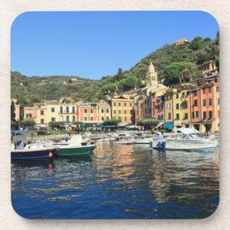 view in Portofino Drink Coasters