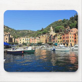 view in Portofino Mousepads