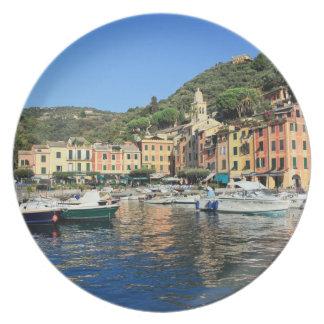 view in Portofino Dinner Plates