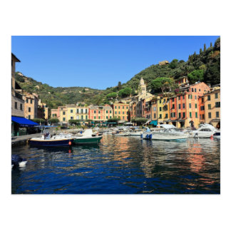 view in Portofino Postcard