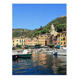 view in Portofino Postcard