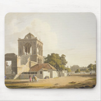 View in the Fort, Madura, plate 14 from Part 2 of Mouse Pad
