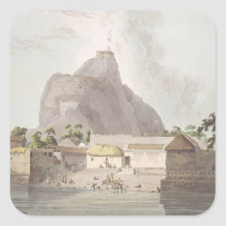 View in the Fort of Trichinopoly, plate 47 from 'O Square Sticker