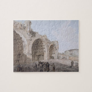 View in the Roman Forum (The Temple of Peace) 1779 Jigsaw Puzzle