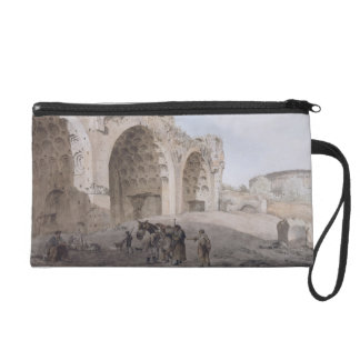 View in the Roman Forum (The Temple of Peace) 1779 Wristlet Clutch