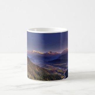 View Landscape  : HIMALAYA POKHARA NEPAL Coffee Mug