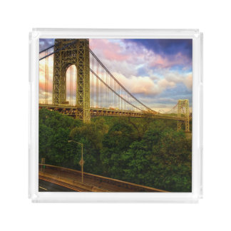 View looking South - West from Manhattan Acrylic Tray