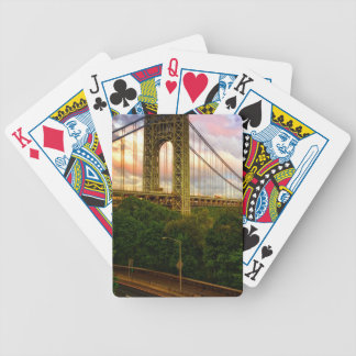 View looking South - West from Manhattan Bicycle Playing Cards
