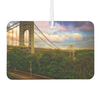 View looking South - West from Manhattan Car Air Freshener